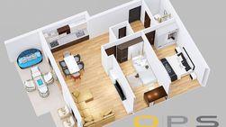 Trosoban stan, LUX novogradnja, 1650 EUR+PDV