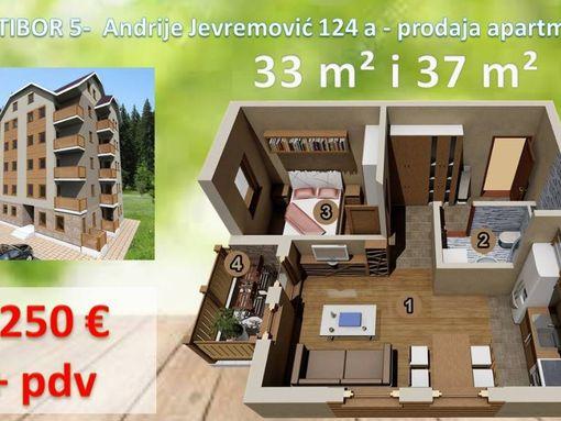 Direktna prodaja apartmana, 33 m2 luks gradnja, investitor - slika 3
