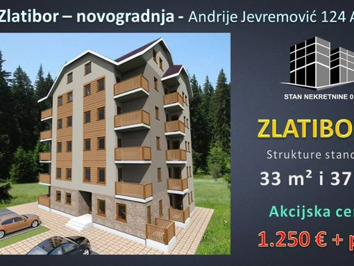Direktna prodaja apartmana, 33 m2 luks gradnja, investitor - slika 2