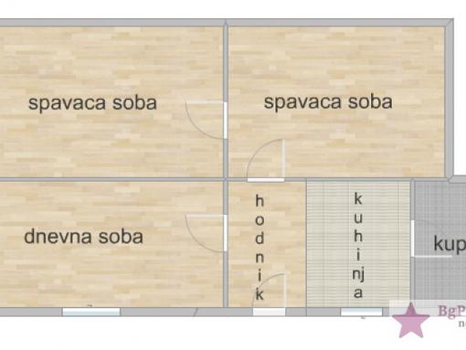 Pančevo, Centar,  Makisma Gorkog 61m2, Maksima Gorkog - slika 2
