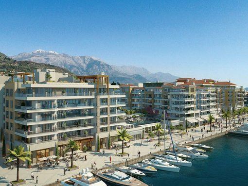 Porto Montenegro, Regent Pool Club – trosoban apartman s pogledom na bazen i more - slika 3