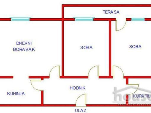 Novija gradnja, nekretnina na odlicnoj lokaciji  - slika 2