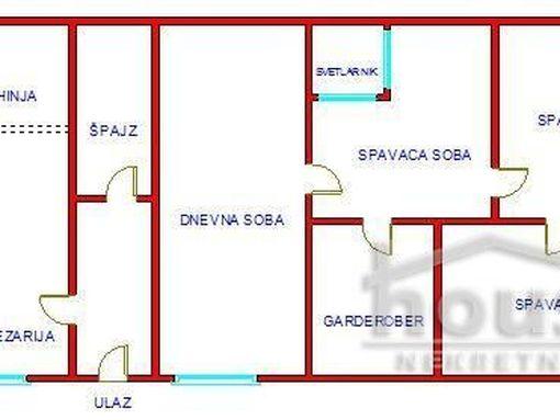 Odlican salonski stan, pogodan za poslovni prostor  - slika 2