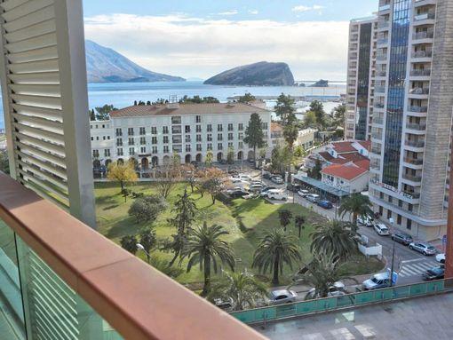Budva, TQ Plaza – dvosoban luksuzan apartman s otvorenim pogledom na more - slika 3