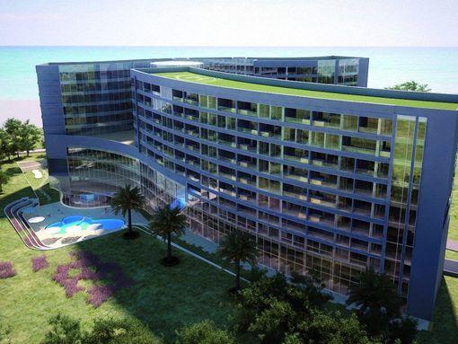 Budva, Buljarica – projekat kondo hotela na obali mora - slika 2