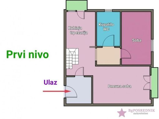 Palilula, Karaburma, Pere Ćetkovića 95 m2, Pere Ćetkovića - slika 2