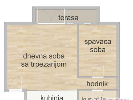 Čukarica, Železnik, Svete Milutinovića, 35m2, Svete Milutinovića - slika 2