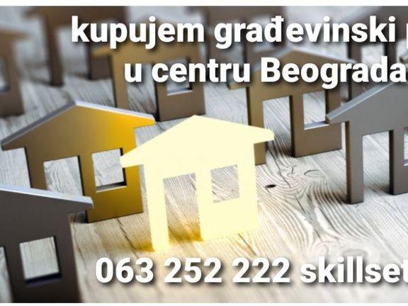 Kupujem građevinski plac sa starom kućom za rušenje u centru Beograda isplata po dogovoru,odličan investitor