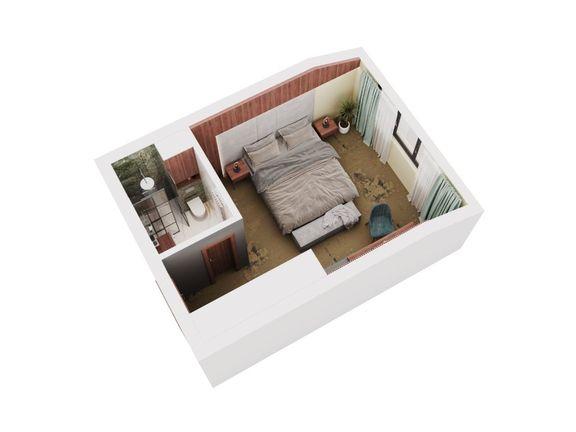 HARMONIA PALACE 5* - STUDIO 20.47 m2