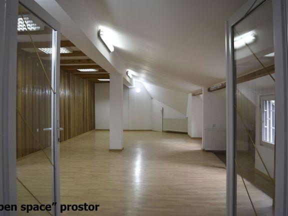 Višenamenski ''open space'' prostor u centru, mali dodatni troškovi