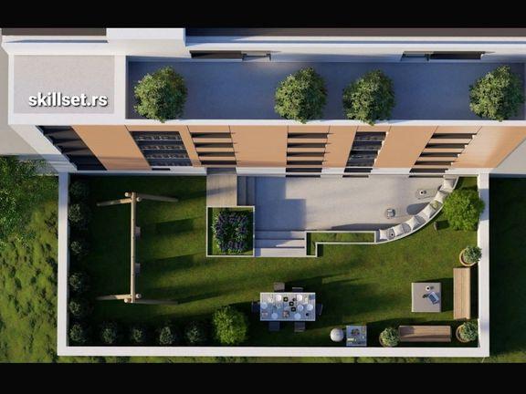 Podujevska br 19 Cvetkova pijaca novi de lux stanovi 49 i 59m2 po 2100 eura x 1m2,direktno vlasnik