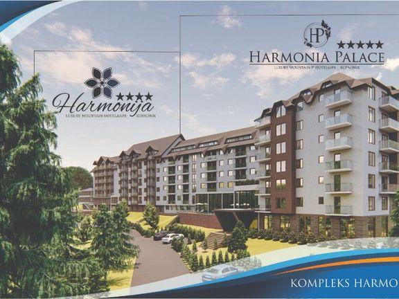 HARMONIA PALACE 5* - STUDIO 25.87 m2