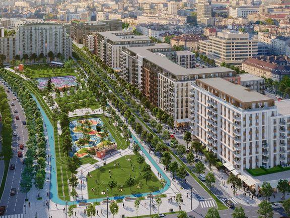 Belgrade Waterfront Quartet 503 Dvosoban stan