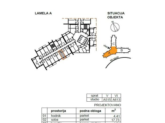 Hotel Jahorina, Apartman A 613 - 31.72m2