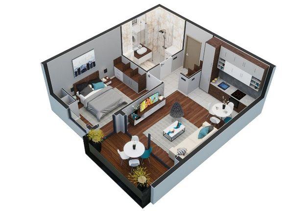 Jednosoban apartman površine 39 m², 21st Century Zlatibor Residence, Spa & Wellness by Adora