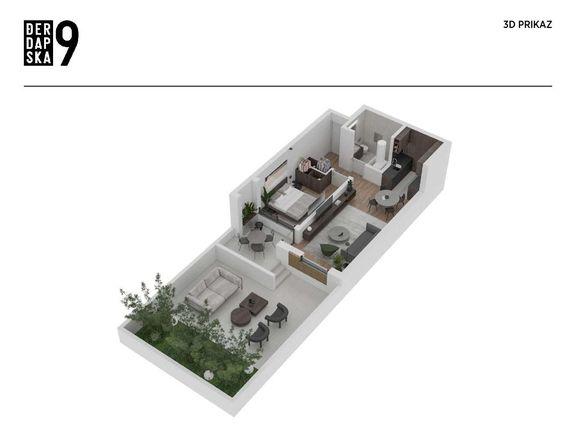DIREKTNA PRODAJA - Luksuzna nova zgrada u mirnom delu Vračara - stan sa privatnim luksuznim vrtom
