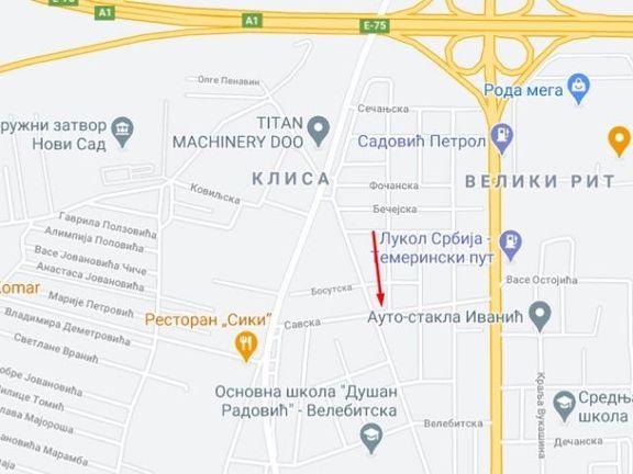 Prodaja lokala Novi Sad - samostojeći prodajni objekat - Savska ulica
