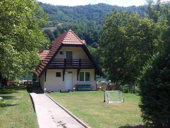 Vila na reci Drini