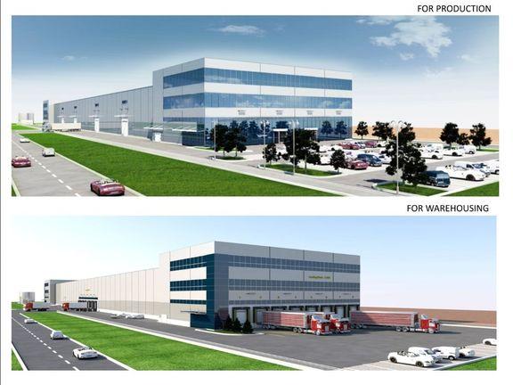 Skladište - proizvodnja - hladnjača - office / Warehouse - production - coldstorage - office