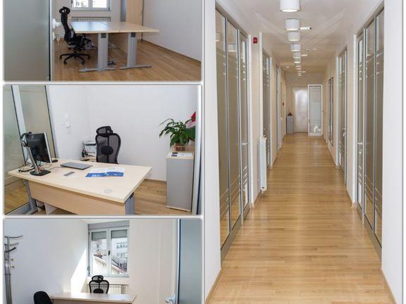 Izdaje se kancelarijski prostor 317m2 u poslovnoj zgradi u Knez Mhailovoj