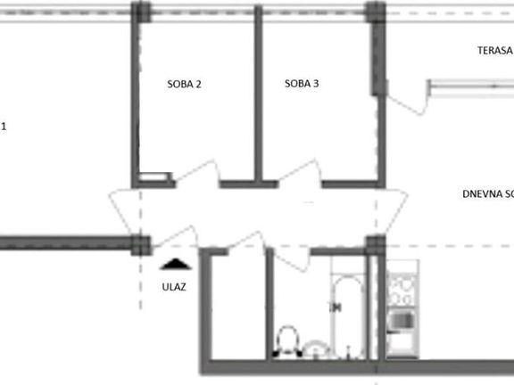 Stan Blok 21, TC Ušće, renoviran