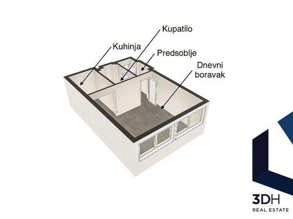 Fenomenalna lokacija 35m2, Balkanska 1.0