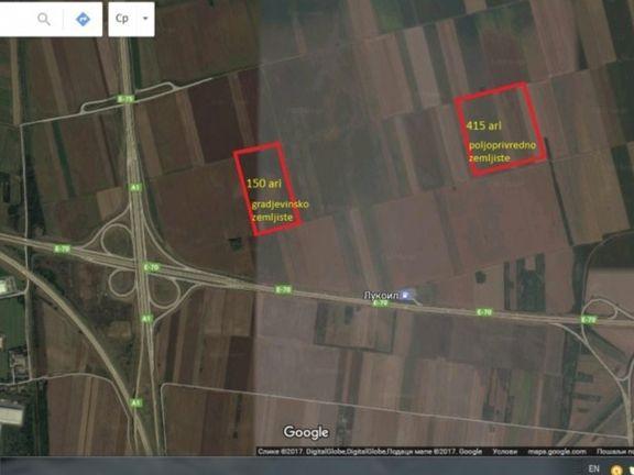 Dobanovci Gradjevinsko zemljiste 150a 150.000e