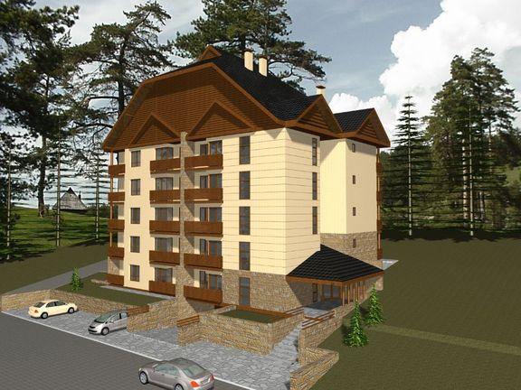 VILA LEONARDO 6-Apartmani 38m2 i 41m2