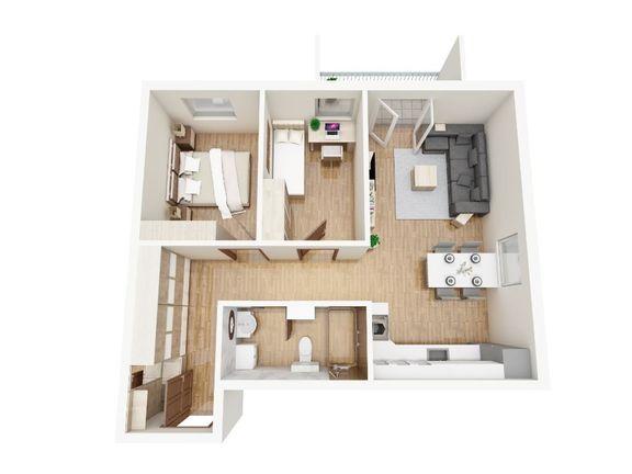 Dvosoban stan u Inđiji
