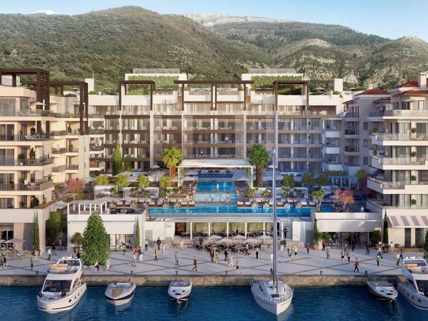 Tivat, Porto Montenegro – jednosoban ekskluzivan apartman, Elena Residence