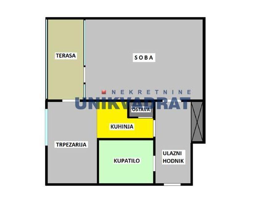 HITNO!  Novi Beograd,  45 m2, 73.000, uknjižen ID#1789