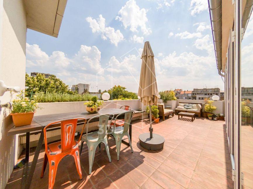 Stan na prestižnoj lokaciji 135m2 sa terasom 20m2